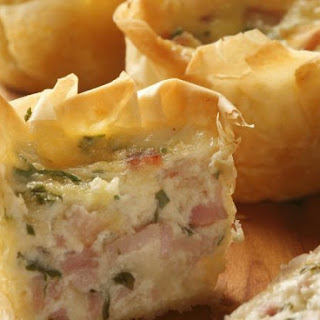 Celiac-friendly Ham Pastry Bakes.