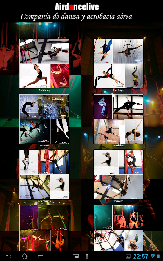 Airdancelive- screenshot