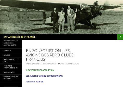 Les avions de aéro-clubs français