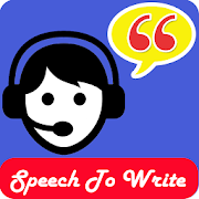 Speech to Write - Speech to text