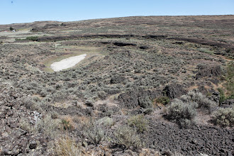 Photo: Stop 5 - Ring Structures - Odessa Craters Loop