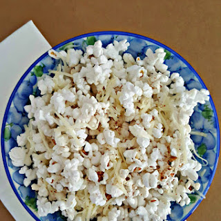 #StellaCheeses Garlasiago Popcorn is perfect for Movie Night #ad