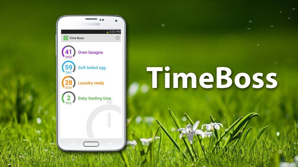 TimeBoss 2: timer & stopwatch