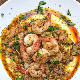 White Cheddar Grits and Shrimp Recipe