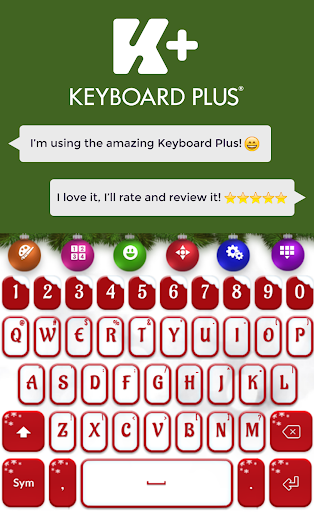 Keyboard Plus Christmas HD