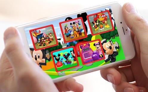 Jigsaw Mickey Puzzle Toys - náhled