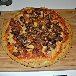 Holy Shiitake Mellow Mushroom Pizza