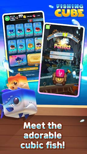 Fishing Cube  captures d'écran 1