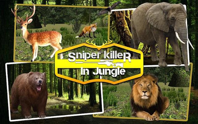 Sniper Killer in Jungle - screenshot