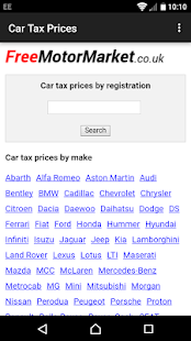 Car Tax Prices- screenshot thumbnail