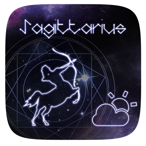 Sagittarius GO Weather Widget