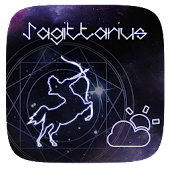 Sagittarius GO Weather Widget