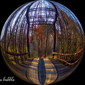 old steel bridge in Lycoming County- in a bubble-cap.jpg