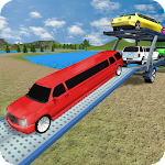 Car Transporter Truck Games 2018 Icon
