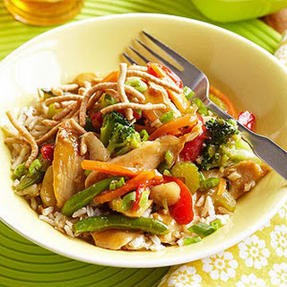 Honey Chicken Stir-Fry.