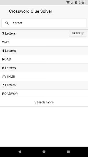 Crossword Clue Solver 2.3.0 Mod screenshots 3