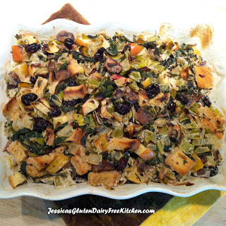 Thanksgiving Holiday Stuffing - gluten free, vegan