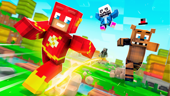 ✩ Crossy Creepers: Marvel Island Block Survival ✩ Screenshot
