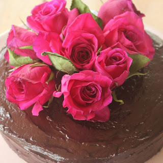 Chocolate + Beetroot Cake