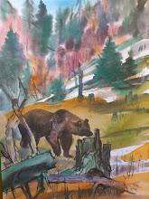Photo: Ludvík Kunc - akvarel č. 3