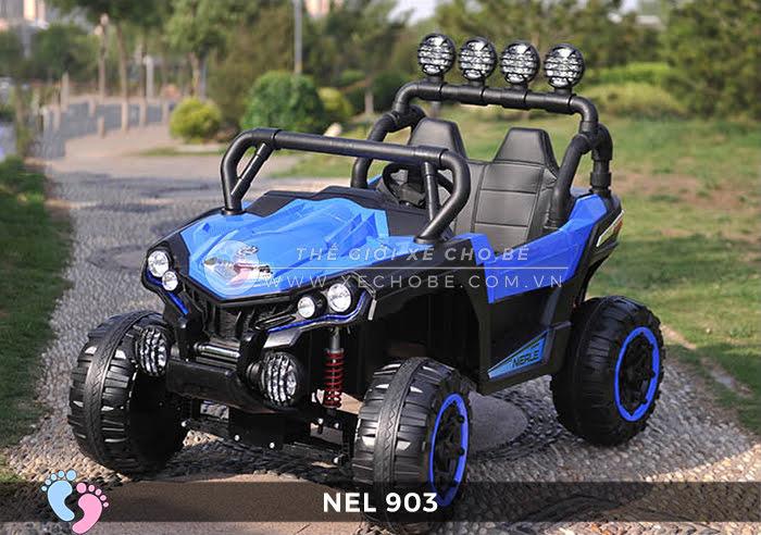 Xe ô tô điện địa hình NEL-903 4 động cơ 11