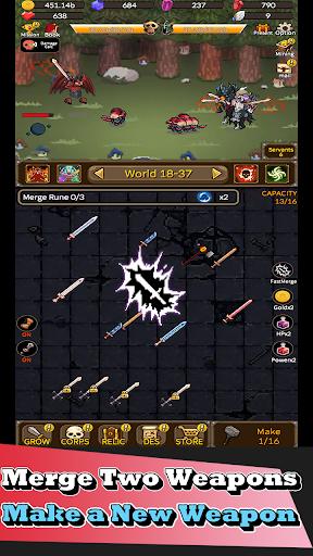 Télécharger Gratuit Devil Smithy : Merge Idle mod apk screenshots 3