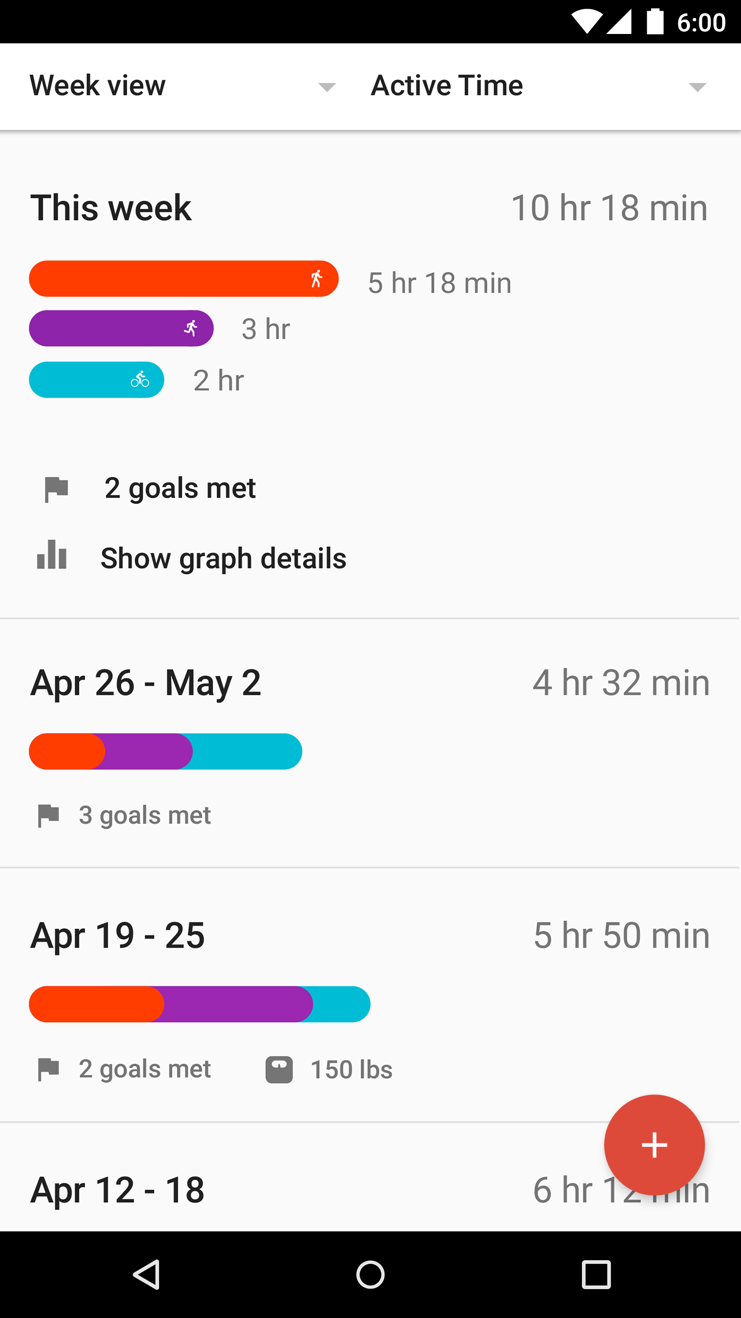 Google Fit - Fitness Tracking screenshot #2