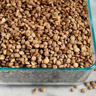 Cooking Lentils From Scratch.