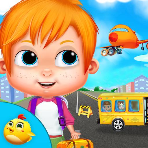 ミニ空港ガイドキッズゲーム 教育 App LOGO-APP試玩