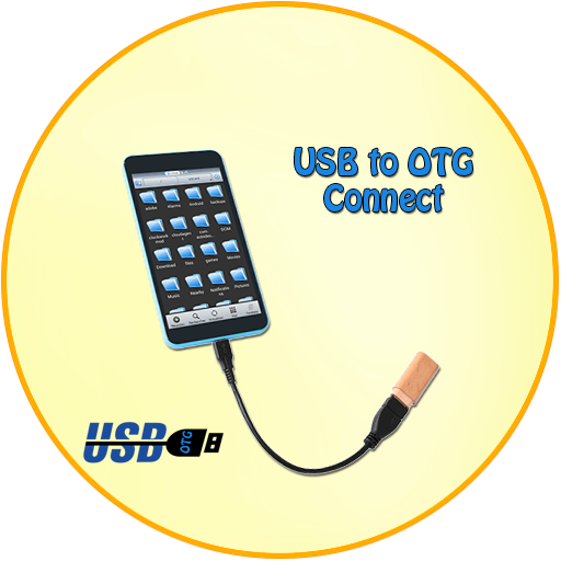 Icon for USB To OTG Driver For Android- Connect MHL Hdmi
