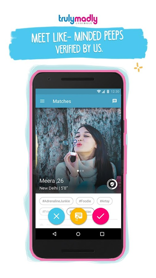 TrulyMadly- screenshot