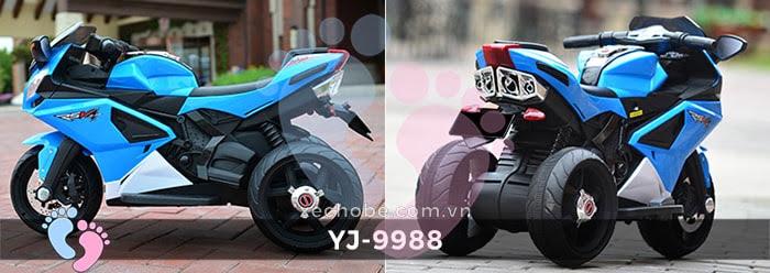 Xe mô tô điện trẻ em YJ-9988 12
