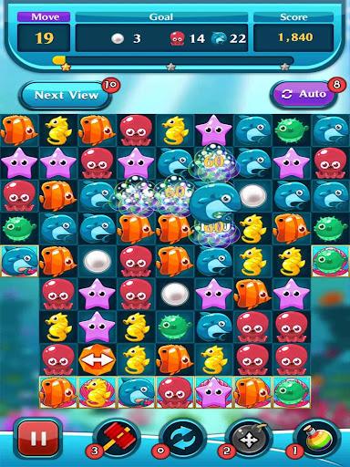 Ocean Match Puzzle apktram screenshots 1