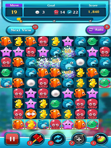 Ocean Match Puzzle 1.2.3 screenshots 1