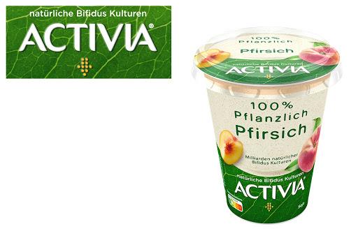 Bild für Cashback-Angebot: ACTIVIA 100% Pflanzlich                                                  Pfirsich - Activia