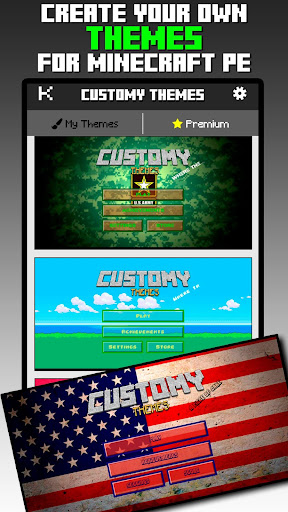 Customy Themes for Minecraft PE 1.29 screenshots 1