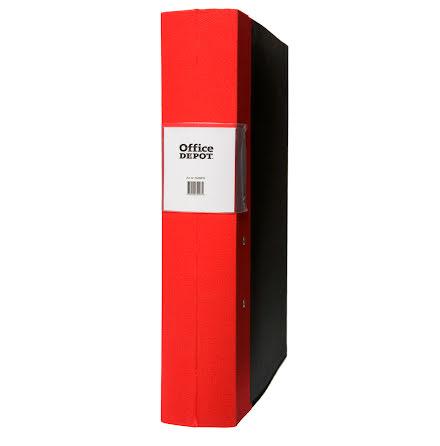 Träryggspärm A4 60 mm röd
