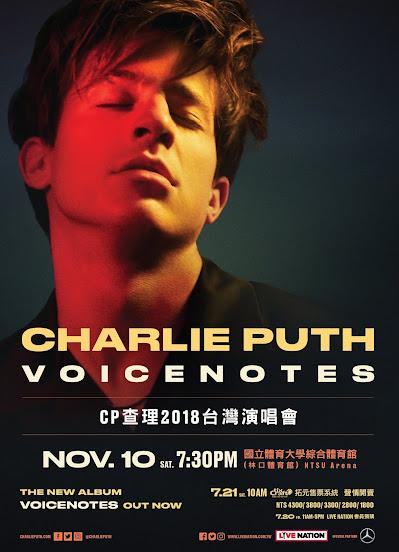 CP查理(Charlie Puth)