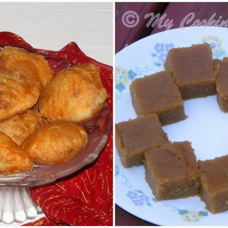 Asoka Halwa (Indian Dessert Made with Moong Dal and Whole Wheat Flour) Recipe