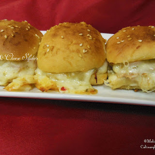 Leftover Holiday Ham & Cheese Sliders