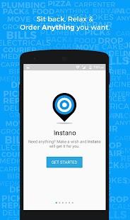Instano - Order anything screenshot