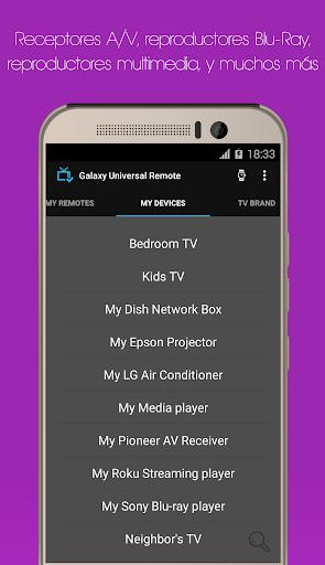 Galaxy Mando Universal para Android