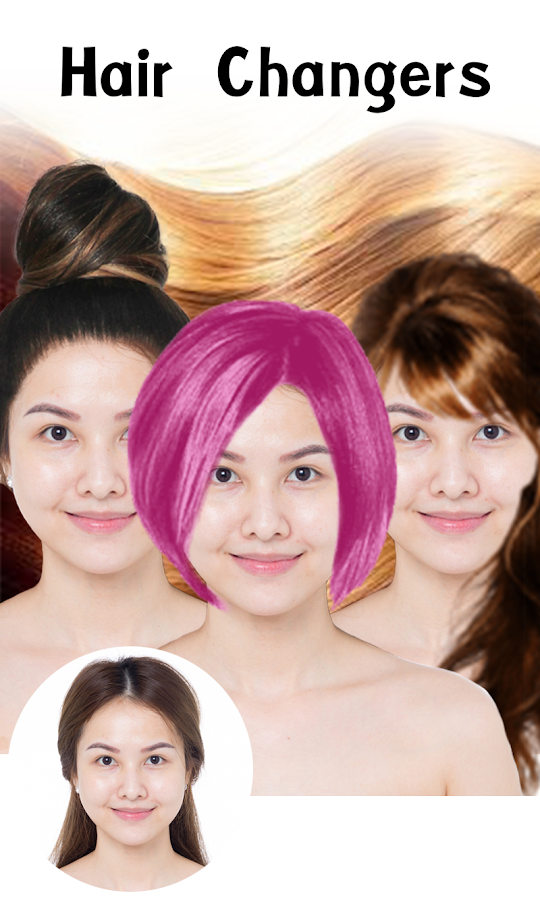 Hairstyle Changer hair changer Hair Changer Screenshot