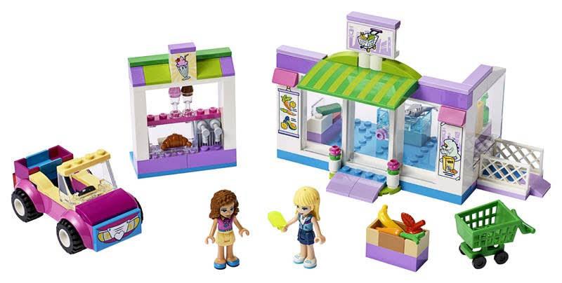 Contenido de Lego® 41362 Supermercado de Heartlake City