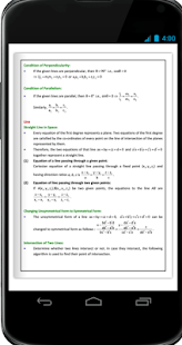 Maths 3 D Geometry Formula Book - náhled