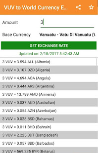 Xe: convert vuv/aud. Vanuatu vatu to australia dollar.