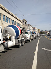 Photo: something very massive and cement oriented happened in sf yesterday