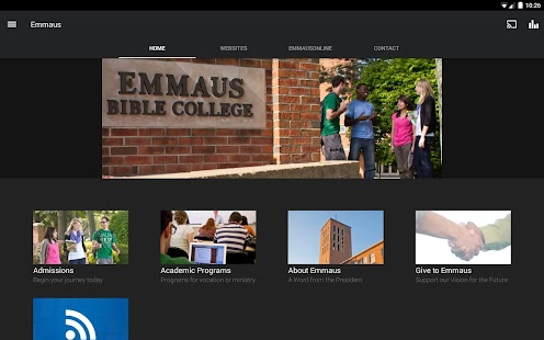 Emmaus Bible College- screenshot thumbnail
