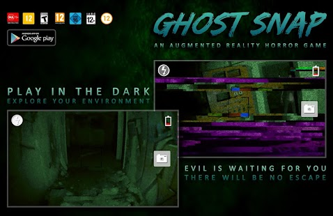 Ghost Snap AR Horror Survival- screenshot thumbnail