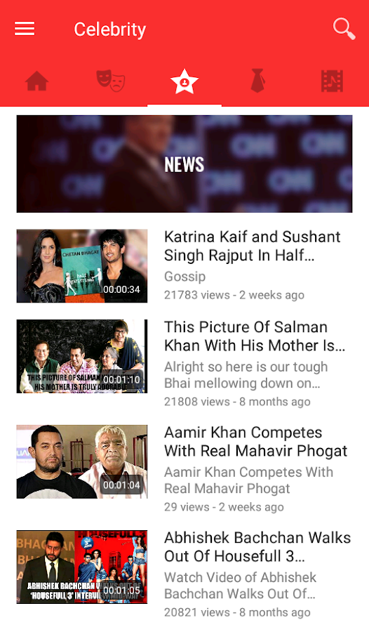 FirstCut - Videos Movies News- screenshot